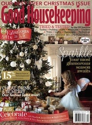 Featured in Good Housekeeping magazine's Christmas edition