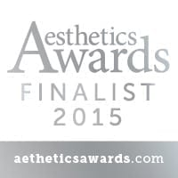 "We are proud to announce that we have been selected as a runner up in the category ""Best New Clinic, UK & Ireland"" at the prestigious 2015/2016 Aesthetics Awards"