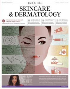 """Featured in The Times newspaper """"Skincare & Dermatology"""" section"""