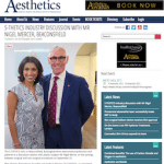 Aesthetics Journal with Mr Nigel Mercer, President of the British Association of Plastic, Reconstructive and Aesthetic Surgeons