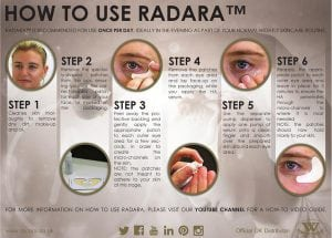 S-Thetics Beaconsfield Radara wrinkle reduction how to use?