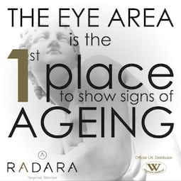S-Thetics Beaconsfield Radara wrinkle reduction micro-channelling eye area