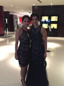 Miss Sherina Balaratnam with Miss Roba Khundkar, Plastic Surgeon