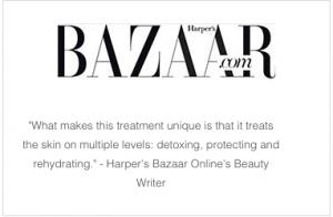S-Thetics Hydrafacial in Harpers Bazaar