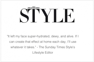 S-Thetics Hydrafacial in Sunday Times Style