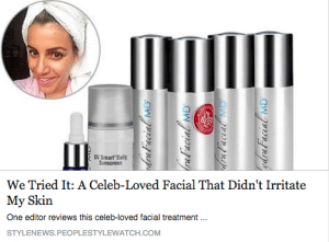 Read a review from an Associate Style Editor, trying the HydraFacial for the first time
