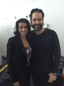 Miss Sherina Balaratnam of S-Thetics, with Dr Mauricio de Maio