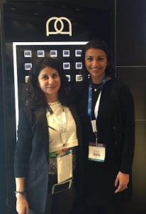 Miss Sherina Balaratnam with Dr Diana Murr, dermatologist and Universkin advisory board member