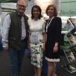With Amanda Cameron and Nick Sinclair