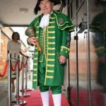 Mr Dick Smith, Beaconsfield town crier since 1969