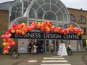 Brides show at the Business Design Centre