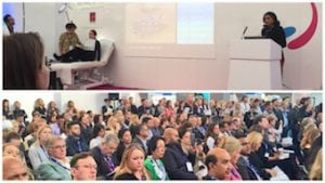 Presenting advanced lip contouring and enhancement techniques at the Clinical, Cosmetic & Reconstructive Expo