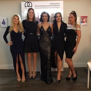 S-Thetics Clinic in Beaconsfield wins Reception Team of the Year