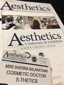 Aesthetics Conference 2017 Miss Sherina Balaratnam