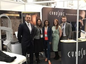 Cynosure UK team with Miss Sherina Balaratnam