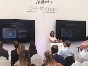 Miss Sherina Balaratnam presenting an Expert Clinic on SculpSure body contouring