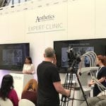 Miss Balaratnam presenting an Expert Clinic on SculpSure at ACE 2017