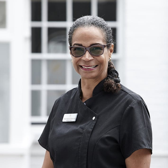 Cheryl Marshall Williams at S-Thetics Clinic