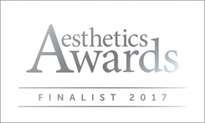 S-Thetics Clinic Aesthetics Awards finalist 2017