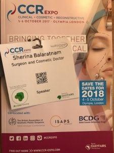 Miss Sherina Balaratnam, Surgeon and Cosmetic Doctor