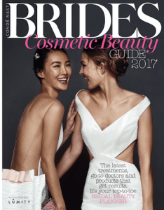 S-Thetics featured in the Conde Nast Brides Cosmetic Beauty Guide