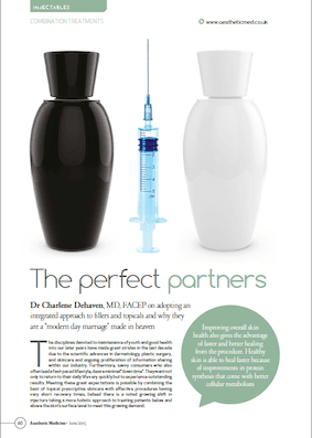 Topical skincare and dermal fillers – the perfect synergy