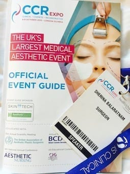 S-Thetics at the Clinical, Cosmetic & Reconstructive Expo October 2015