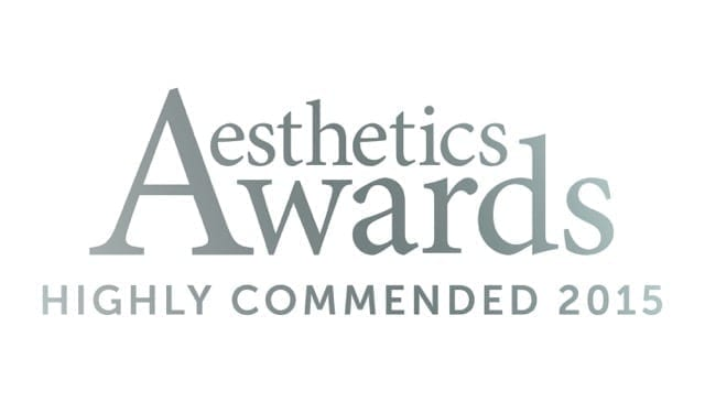 S-Thetics Wins Best New Clinic UK and Ireland, Highly Commended at the 2015 / 2016 Aesthetics Awards