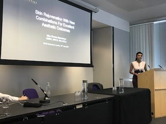 Presenting on the latest combination laser treatments at FACE London 2017