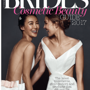 S-Thetics Clinic named 'Best for blemish free skin' in Conde Nast Brides Magazine