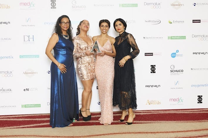 S-Thetics Clinic wins 'Best Clinic South England' at the Aesthetics Awards