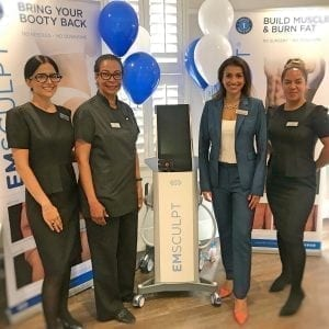 Introducing EMSculpt at S-Thetics Clinic