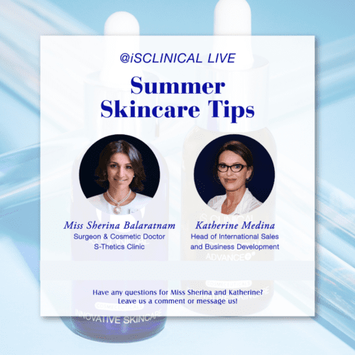 Instagram Live with iS Clinical USA – 'Summer Skincare Tips'